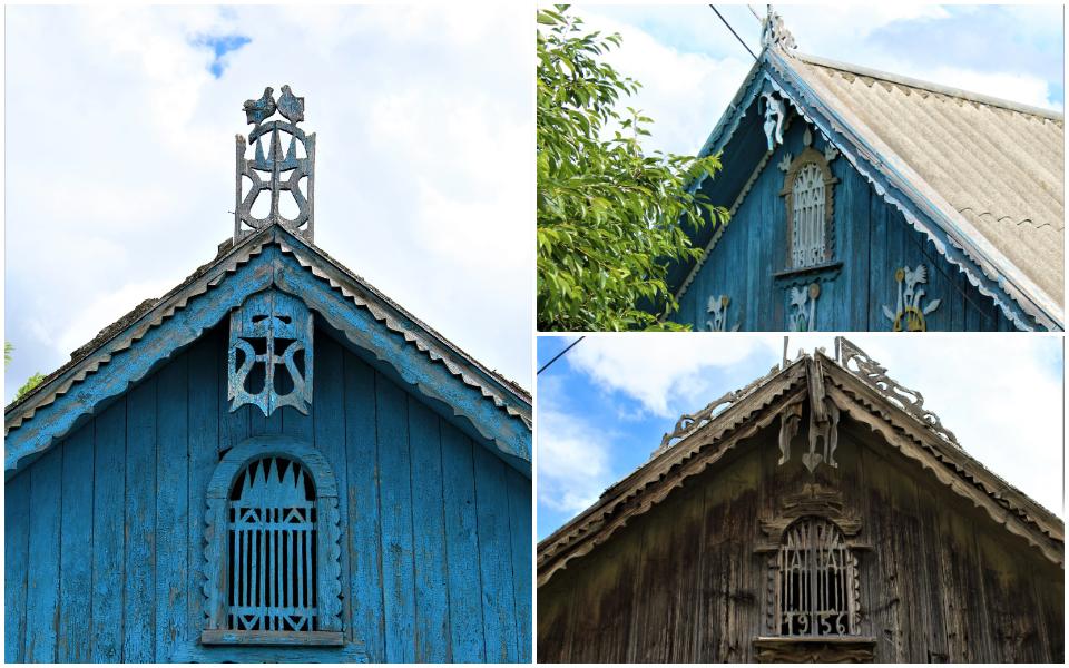 (foto) Călătorim arhitectural în sudul Moldovei. Cum gospodarii își ornamentau acoperișurile caselor