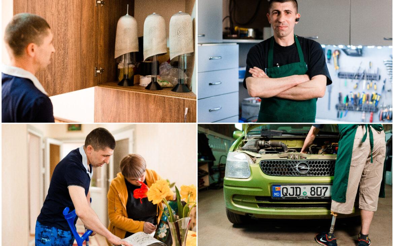 Povestea lui Igor Țurcanu – mecanicul auto care și-a recăpătat calitatea vieții datorită protezei sale personalizate