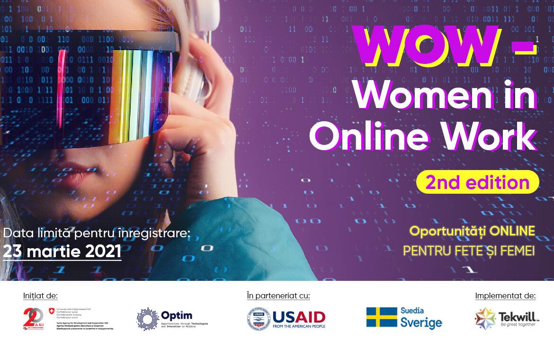 Cum poți combina domeniul financiar-bancar cu Social Media Management. Află povestea Inei Iavorschi în cadrul programului Women in Online Work