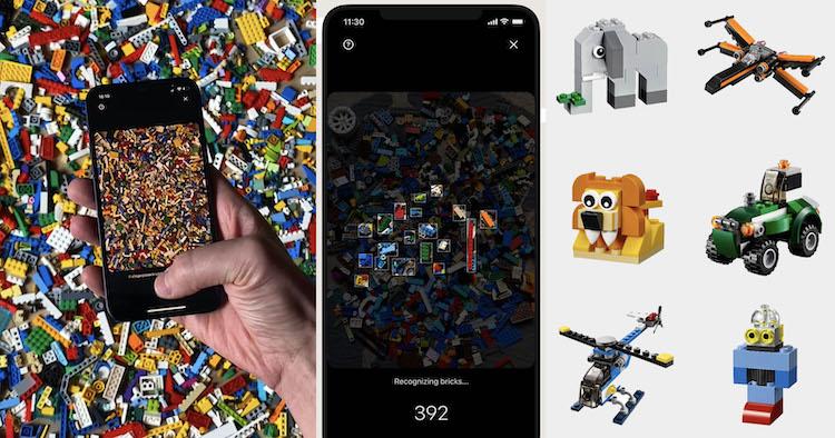 Ești fan LEGO? O aplicație îți vine în ajutor cu sugestii de lucruri pe care le poți construi cu ajutorul pieselor LEGO pe care le scanezi