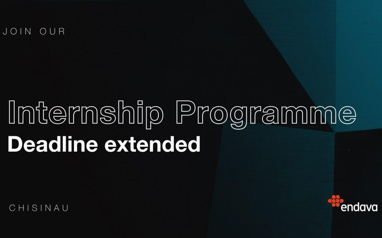 Endava Internship: perioada de înscriere a fost extinsă