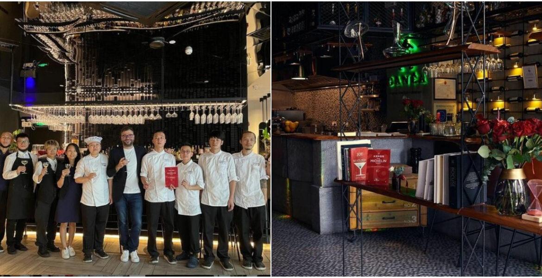 (foto) Restaurantul celor trei moldoveni din China își reconfirmă statutul și în perioada pandemică. Acesta a primit din nou platoul Michelin