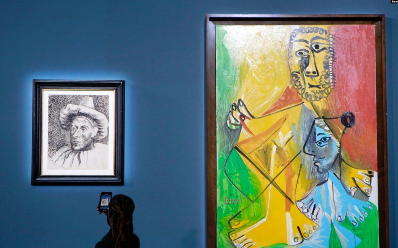 11 lucrări ale lui Picasso au fost vândute cu peste 108 milioane de dolari la o licitație din Las Vegas