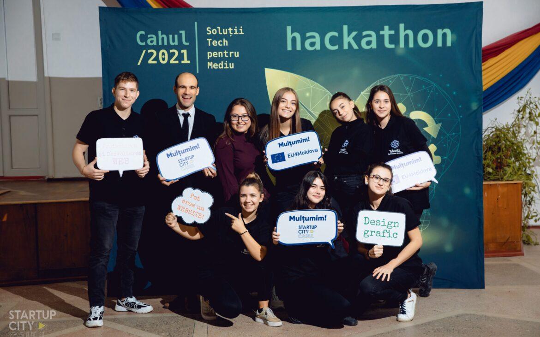Săptămâna UE a programării: sute de elevi din Moldova și-au testat competențele digitale